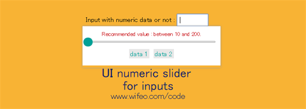 numerics-slider