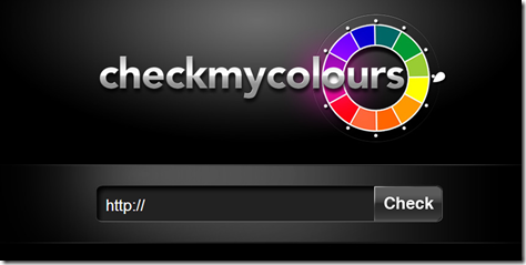 Check My Colours   Analyse the color contrast of your web pages