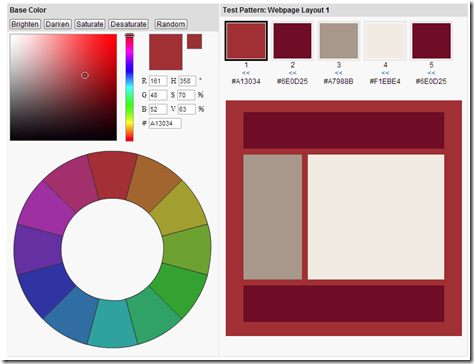Create Color Schemes  Test Color Combinations   Colorspire