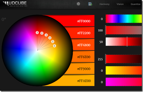 Sphere  Color Theory Visualizer
