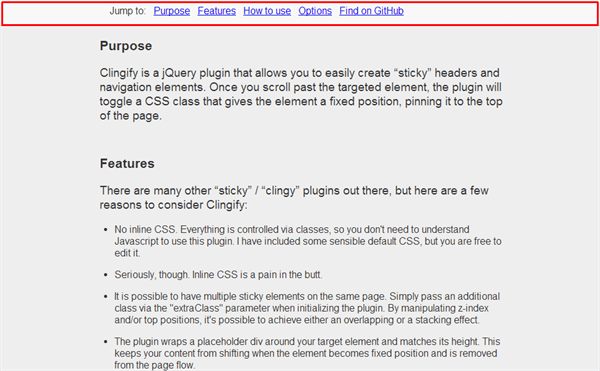 sticky-header_jQuery